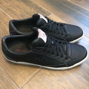 """True Religion """"Lambert"""" Leather Sneaker- Sz 12"""